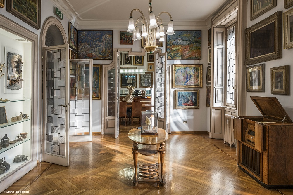cosa vedere italia del nord case museo milano Casa Museo Boschi Di Stefano (3)