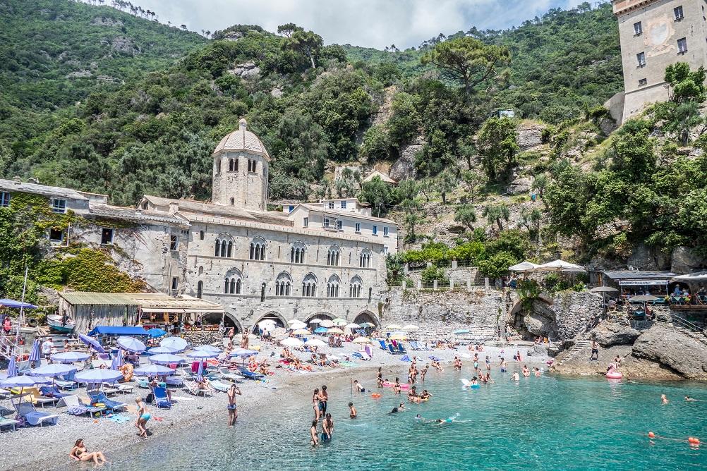 San fruttuoso in Liguria, tra i posti da vedere in Nord Italia