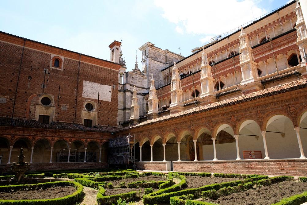 certosa di Pavia tra i posti da vedere in Nord Italia