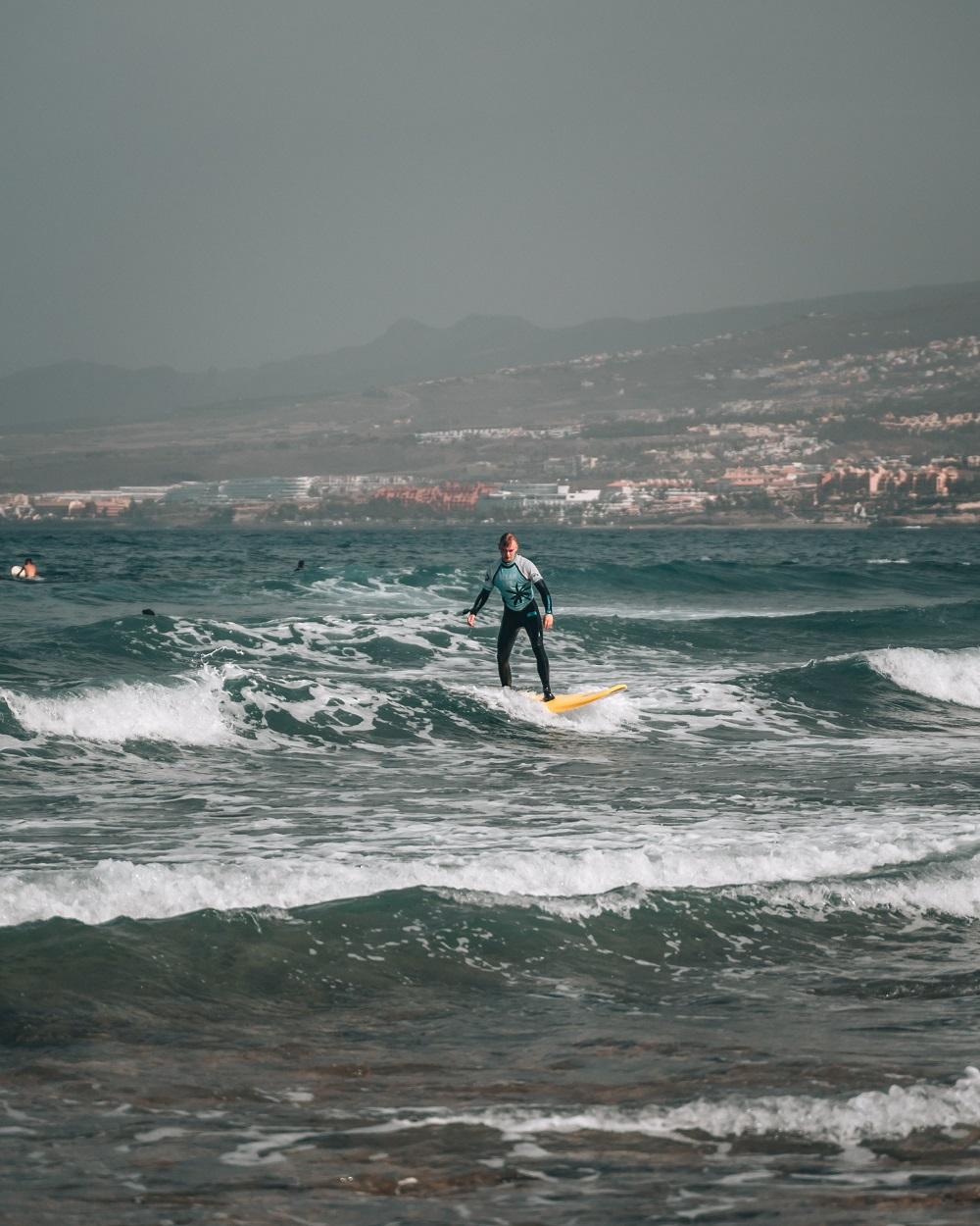 dove fare surf a tenerife