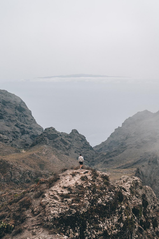 trekking a tenerife canarie