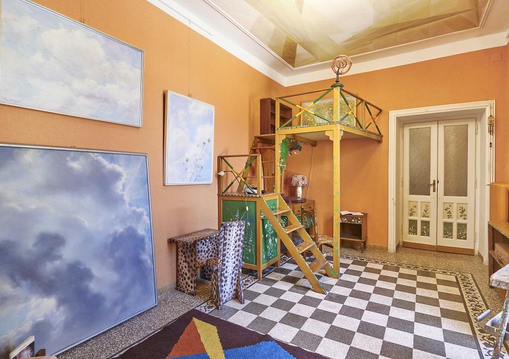 foto di casa balla a roma