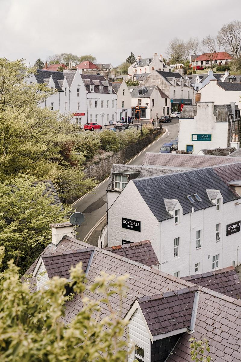 Portree scozia, isola di Skye in un giorno