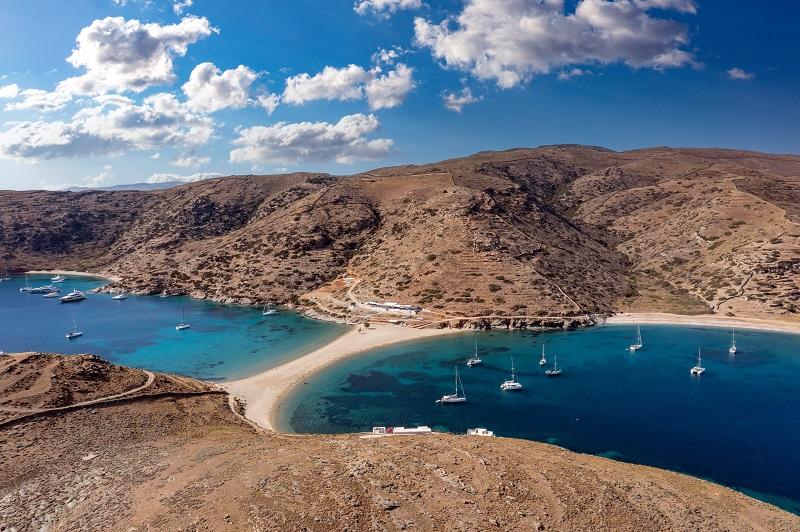 Kythnos island, le isole della grecia da visitare che sono poco turistiche