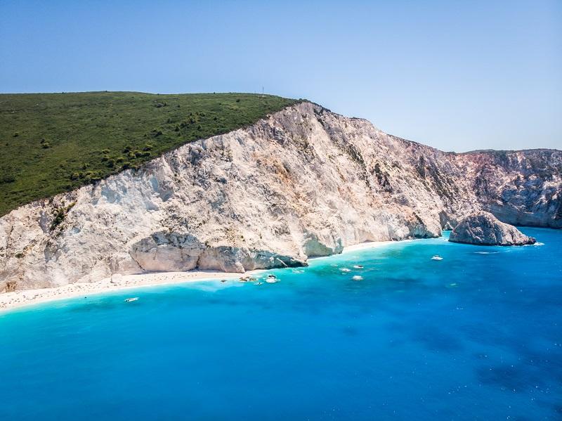 isola di Lefkada, Grecia. Isole greche tranquille e poco frequentate dal turismo (1)